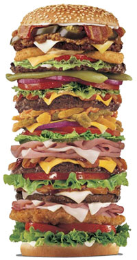 Bits Size Hamburger